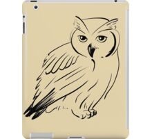 Owl hand drawn iPad Case/Skin