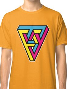 CMYK Triangle Classic T-Shirt