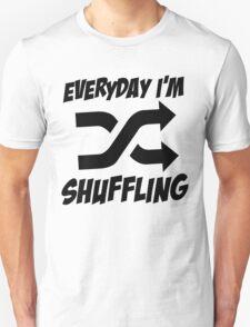 Shuffling Unisex T-Shirt
