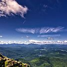 Lake Placid, NY - View from Whiteface Mountain by Michael Schaefer