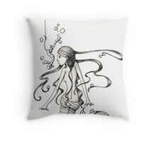 Unlikely Bait Throw Pillow