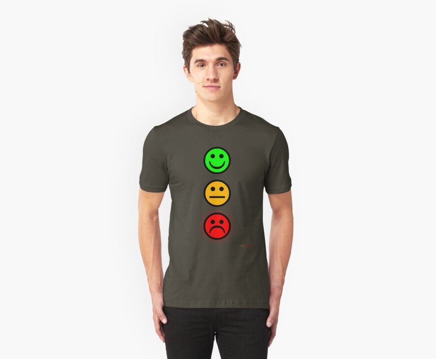 Smiley Traffic Lights - Green For Go by muz2142