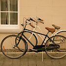 Bikes, Marter Castle, Ireland by Jenny Hambleton