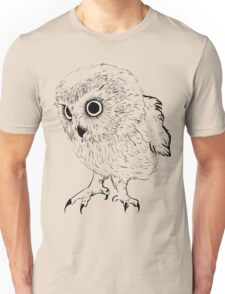 Owl hand drawn Unisex T-Shirt