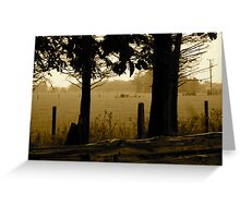 Rain in the Trees - Castle Marter, Ireland Greeting Card