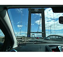 Leaving Cornwall Via The Tamar Bridge Photographic Print