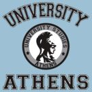 University of Athens by Vagelis Georgariou