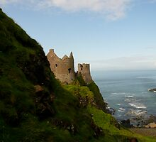 Dunlunce Castle, Ireland by Jenny Hambleton