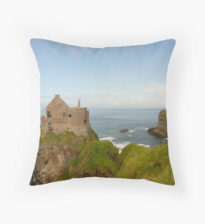 Dunluce Castle, Ireland Throw Pillow