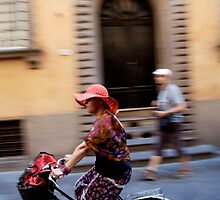 peoplescapes #221, flowers on wheels by stickelsimages