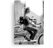 peoplescapes #224, denim astride Canvas Print