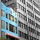 Blue Building  by DearMsWildOne