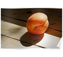 Portrait of an Apricot Poster