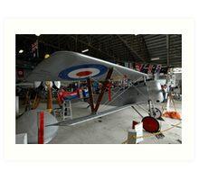 Nieuport Scout @ Festival Of Flight, Australia 2011 Art Print