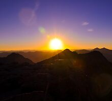 Sunset on Mount Evans by Reese Ferrier