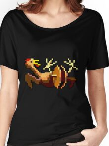 Rubber chicken with a pulley in the middle (Monkey Island) Women's Relaxed Fit T-Shirt