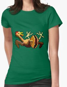 Rubber chicken with a pulley in the middle (Monkey Island) Womens Fitted T-Shirt