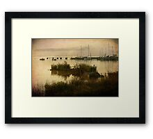 The Old Wooden Pier Framed Print