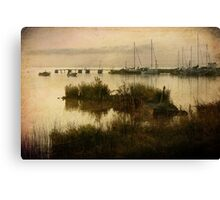The Old Wooden Pier Canvas Print