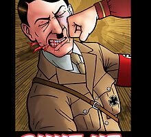 Shut up, Hitler! Print. by Enigmanaut