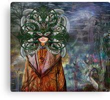 Mystical Adventures II ~ NiLhsa Eermat (art & poetry) Canvas Print