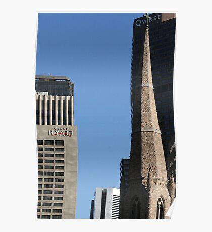 Skyscrapers Of Denver Poster