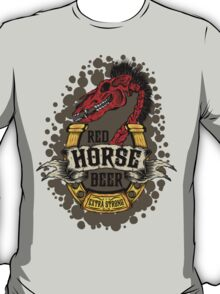 Red Horse Beer T-Shirt