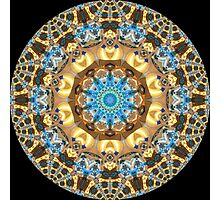 Computer Jewel Kaleidoscope 07 Photographic Print