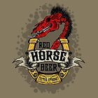 Red Horse Beer by Pancho The Macho