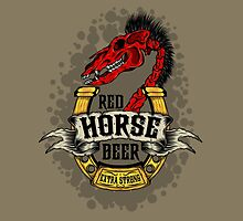 Red Horse Beer by lunatics02