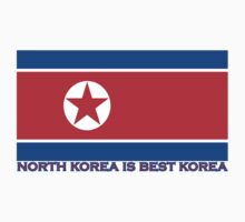 North Korea is Best Korea One Piece - Short Sleeve