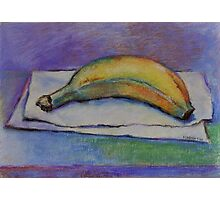 Organic Breakfast!- Original Pastel Painting Drawing by Cuban Artist Magaly Burton - 7.25 x 10 Photographic Print