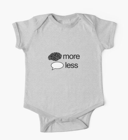 Think more talk less Kids Clothes