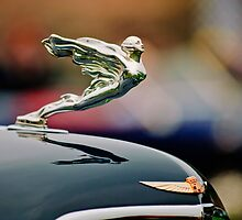 1934 Cadillac 452D Fleetwood Convertible Sedan Hood Ornament by Jill Reger