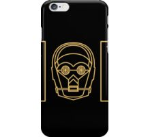 C(3)PO iPhone Case/Skin