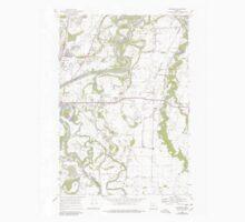 USGS Topo Map Oregon Riverside 281281 1969 24000 Kids Tee