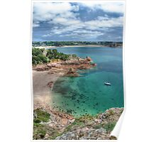 """""""Beauport Bay, Jersey"""" Poster"""