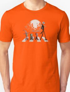Nightmare on Abbey Road Halloween T-shirt T-Shirt