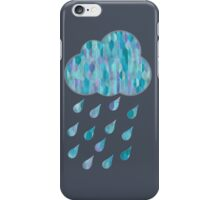 Watercolor Rain Cloud iPhone Case/Skin