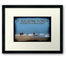 St. Augustine, FL: Summer 2011 Framed Print