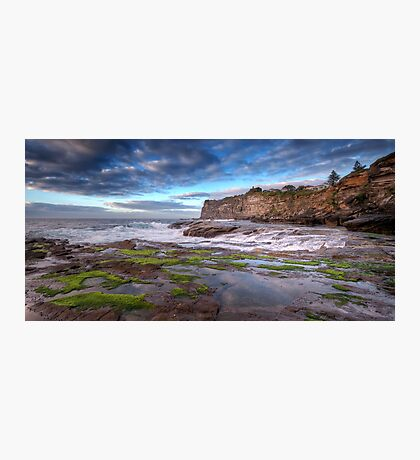 The Rock Shelf at Bangalley Photographic Print
