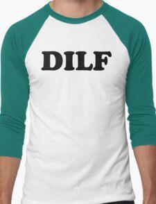 DILF - MENS T-SHIRT S M L XL 2XL 3XL funny dad father adult humor offensive tee Men's Baseball ¾ T-Shirt