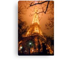 Dreamy Eiffel Tower, Paris Canvas Print