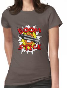 Boom Stick Womens Fitted T-Shirt