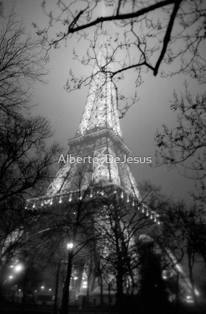 Dreamy Eiffel Tower  by Alberto  DeJesus