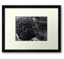 Pōwhiri [welcome] - series N.1 Framed Print