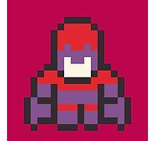 8-Bit Magneto Photographic Print