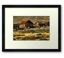 Close Community...Bodie Framed Print