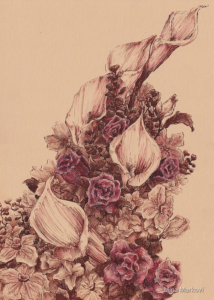 Flowers I by Mina Marković