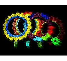 clustered spectra Photographic Print